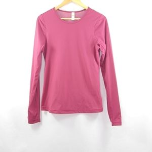 Lole long sleeves round neckline top